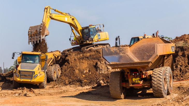 mining construction equipment reduce fan noise