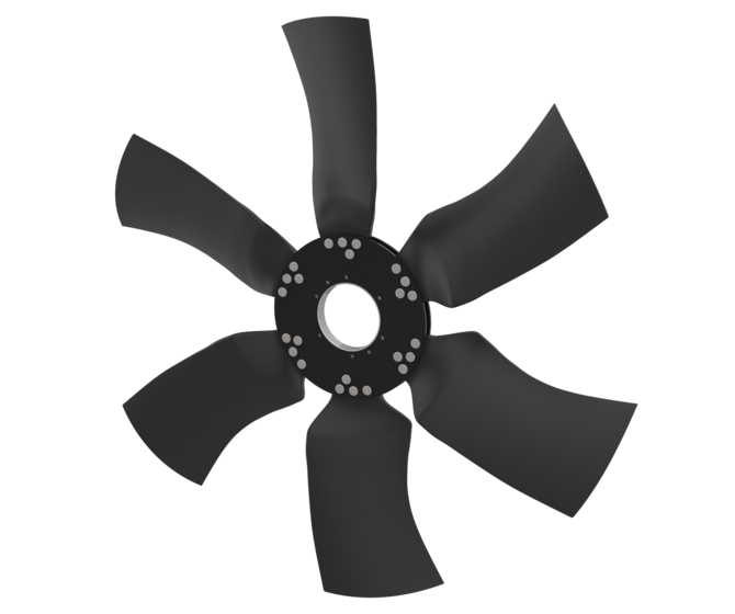 HM1400 Series Modular engine cooling fan