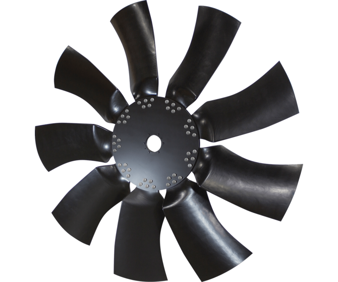 HTEC 1800 Series Cooling Fan