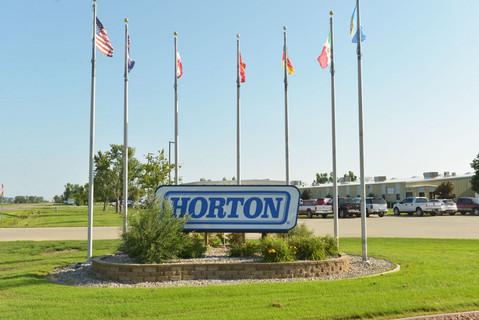 Horton Britton plant sign outside