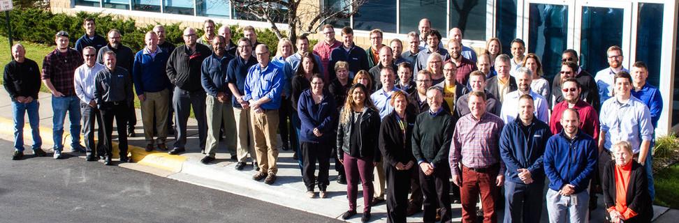 Horton Roseville employees standing together outside