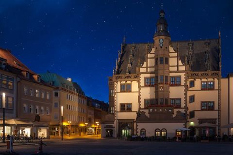 Nighttime in Schweinfurt, Germany